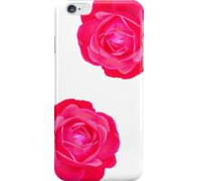 Two pink roses iPhone Case/Skin