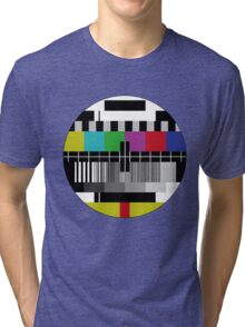 Test screen Tri-blend T-Shirt