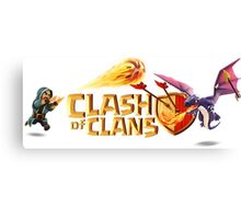 Clash of Clans Canvas Print