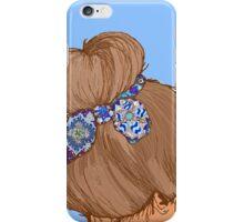 Brunette iPhone Case/Skin