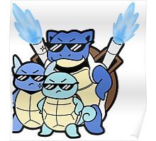 Squirtle Squad Poster