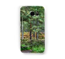 Forest Walk in the New Forest, Hampshire, England Samsung Galaxy Case/Skin