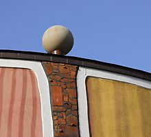 Architectural Detail, Bad Blumau Spa and Hotel by Hundertwasser, Austria  by Petr Svarc