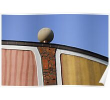 Architectural Detail, Bad Blumau Spa and Hotel by Hundertwasser, Austria  Poster
