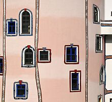 Colourful Facade, Bad Blumau Spa and Hotel by Hundertwasser, Austria  by Petr Svarc