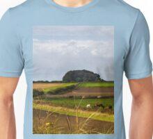 Copse on the horizon Unisex T-Shirt