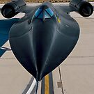 Sr-71 Blackbird by gfydad