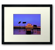 All The World's A Stage Framed Print
