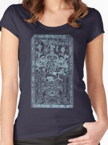 pacal votan Women's Fitted Scoop T-Shirt