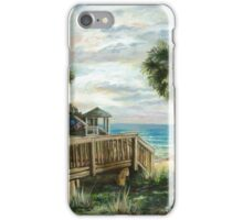 Boardwalk with Lifeguard iPhone Case/Skin