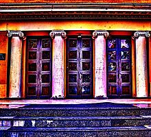 Old Museum Belgrade Fine Art Print by stockfineart