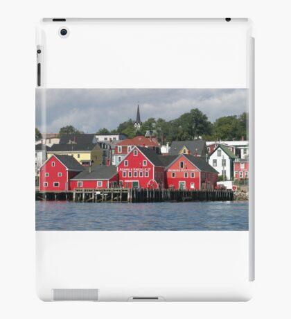 Lunenburg Nova Scotia iPad Case/Skin