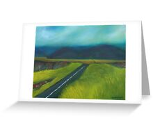 Road to Solitude Greeting Card