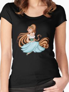 Thumbelina Women's Fitted Scoop T-Shirt