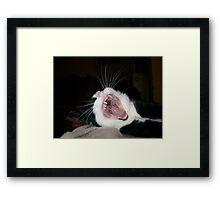 Fangs a Lot! Framed Print