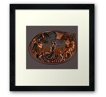 Birth of the Dragon Queen Framed Print