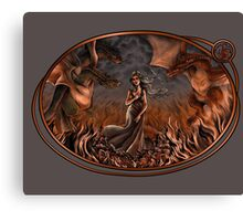 Birth of the Dragon Queen Canvas Print
