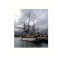 Picton Castle-Lunenburg Art Print