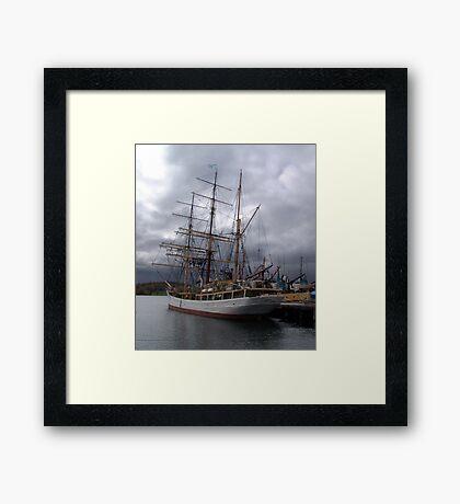 Picton Castle-Lunenburg Framed Print