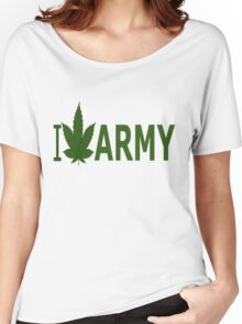 I Love Army Women's Relaxed Fit T-Shirt