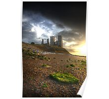 Reculver Towers and Roman Fort Poster