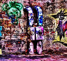 Abandoned Wall Fine Art Print by stockfineart