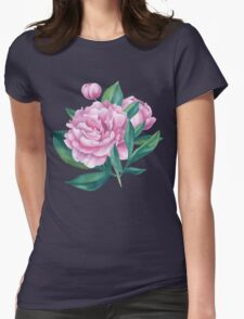 Watercolor Peony Bouquet T-Shirt