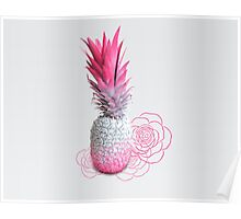 Pink Pineapple Poster