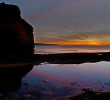 Ladram Devon at Sunrise by peteton