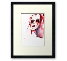 Hot summer Framed Print
