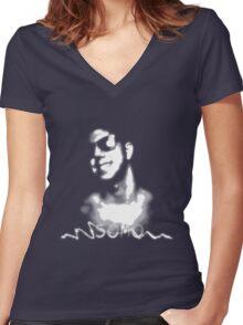 SoMo Tribute Women's Fitted V-Neck T-Shirt