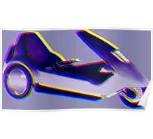 The Sinclair C5 Poster