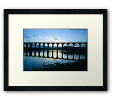 Across The River Tweed Framed Print