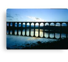 Across The River Tweed Canvas Print