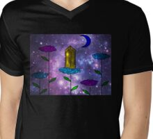 Open Clouds Space  Mens V-Neck T-Shirt
