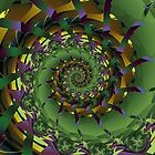 Spiral:  Mr McGregor's Cabbage Patch by myxtl