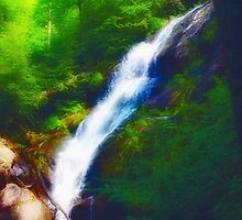 Crabtree Falls 3 by virginian
