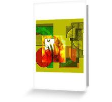 Fusion Art Greeting Card