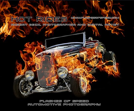 NEW BOOK: HOT RIDES  by Robert Beck