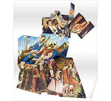 Renaissance Puzzle 4 Parts. Poster