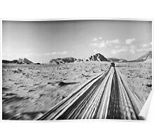 'Desert Freeway'  Poster