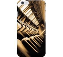 Sitting the Old Fashioned Way iPhone Case/Skin