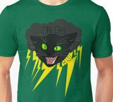 CAT CALL THIS // BLACK CAT Unisex T-Shirt