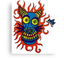 Fire Dragon! Canvas Print