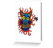 Fire Dragon! Greeting Card