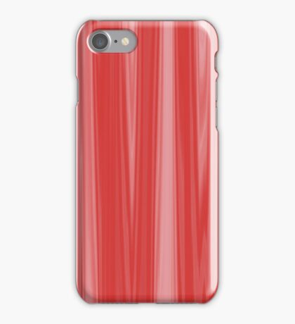 Red Silk Drapes iPhone Case/Skin