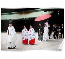 shinto wedding Poster