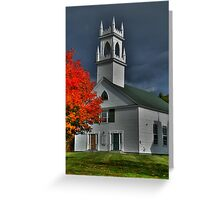 New Hampshire in the Fall Greeting Card