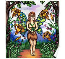 Luck of the Tiger Lily Fairy Poster