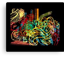 striking colourful-1 Canvas Print
